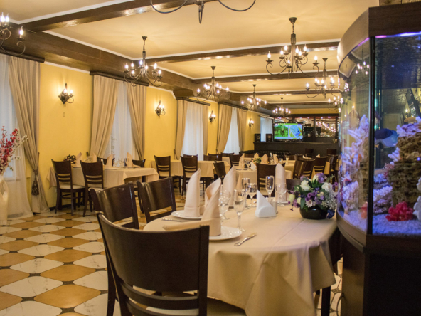 Ресторан | Волков Скай - Загородный отель в Подмосковье